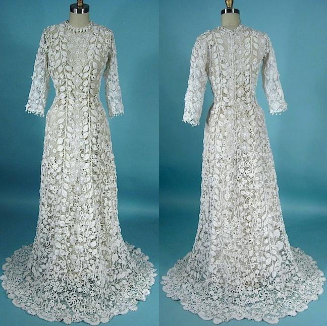 Irish Crochet Dress Free Patterns : Irish Crochet Together