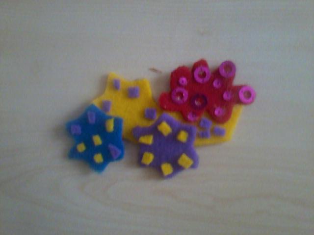 keçeden magnet yapımı