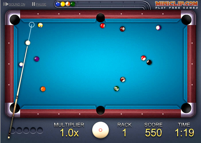 free online games 2 player pool