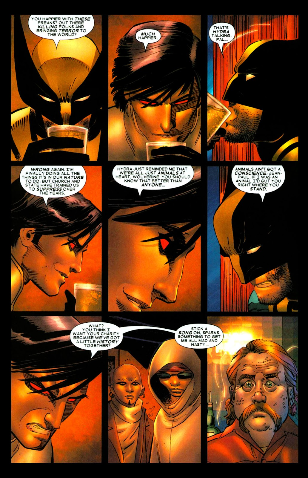 Read online Wolverine (2003) comic -  Issue #28 - 6