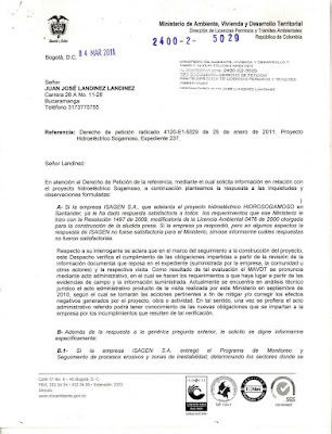 Respuesta Derecho de Peticin