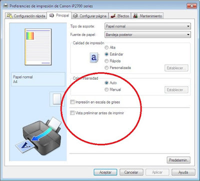 Configured To Print Only Black In Windows 7 Operating System
