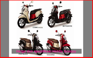 Harga dan Spesifikasi Motor Honda Scoopy