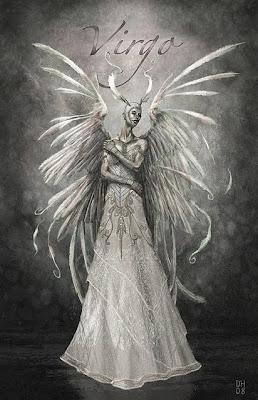 Mujer con Alas - virgo