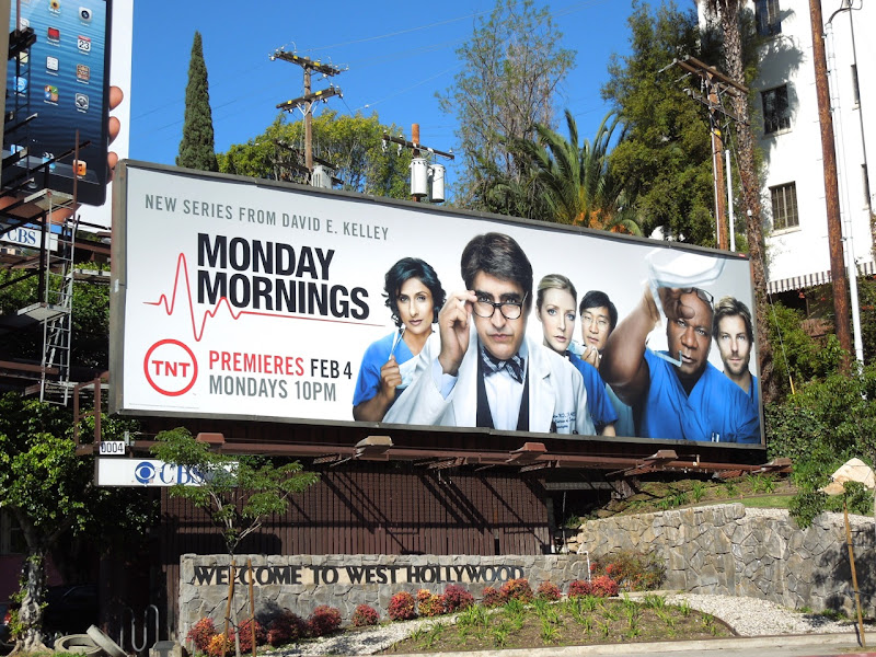 Monday Mornings TNT billboard