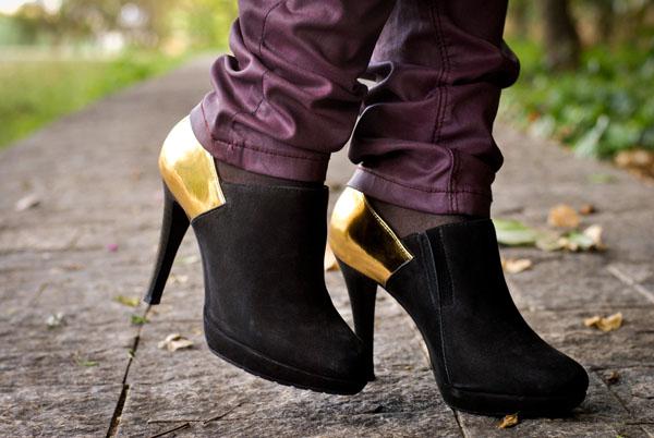 calçado Ankle Boot Wirth de salto alto