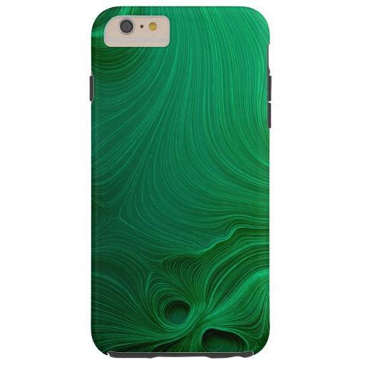 Green Waves Tough iPhone 6 Plus Case