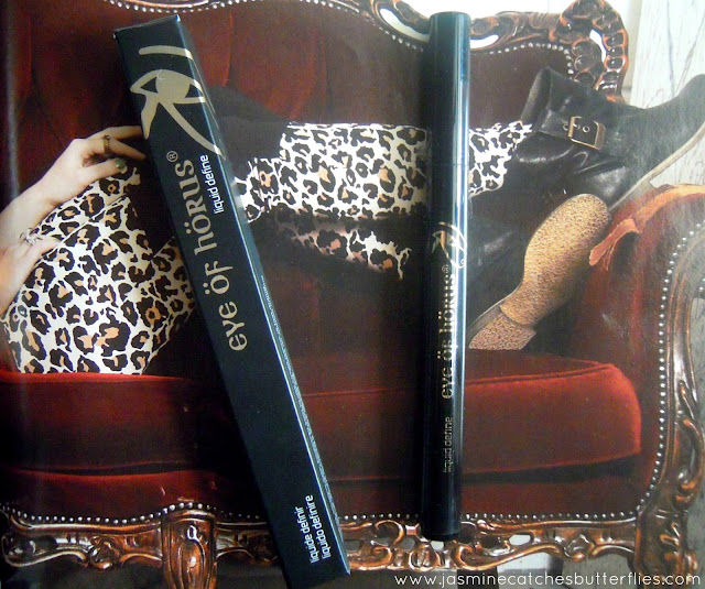 Eye of Horus Liquid Define Liner Review and Swatches