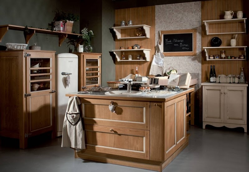 Meuble cuisine rustique free meuble cuisine rustique - Meuble cuisine rustique ...