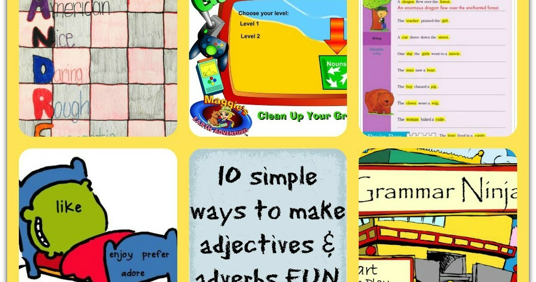 Homework help with adjectives