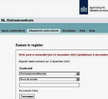 Ie Forumnl Betekenis Van Registratie In Octrooiregister Bij