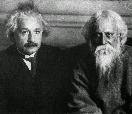 Albert y Rabindranath
