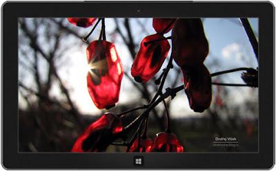 Windows 8 büyük küçük teması