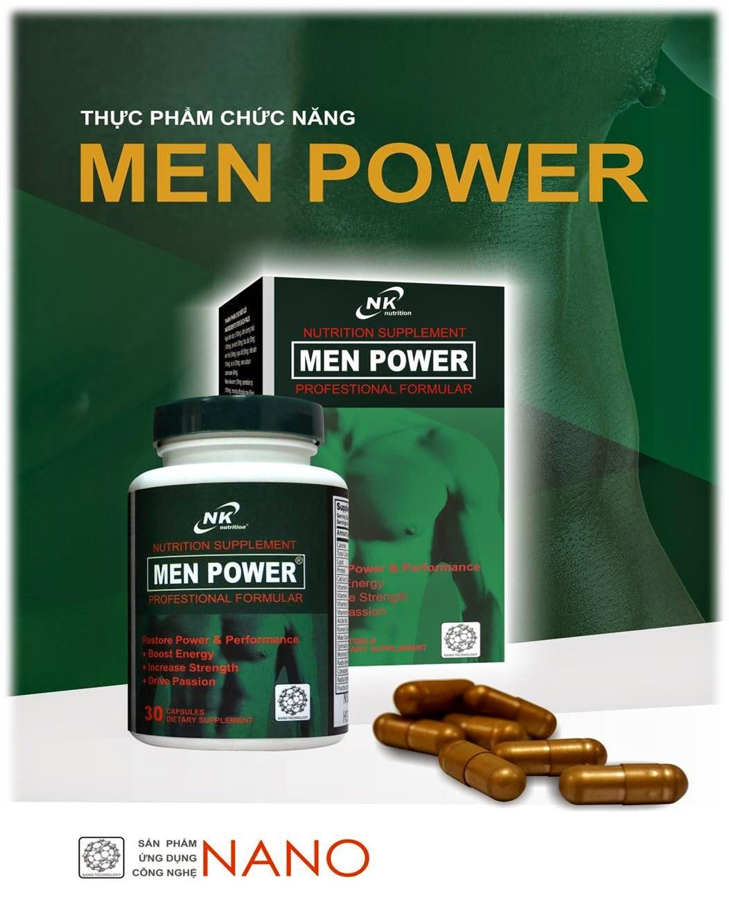 Men Power tăng cường sinh lý nam