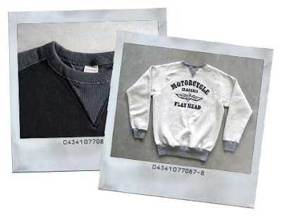The Flat Head loop wheeled sweaters