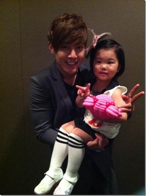 Kim hyun joong and his brother