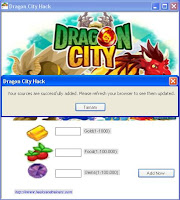 Dragon City Hack Tool Working Successfully