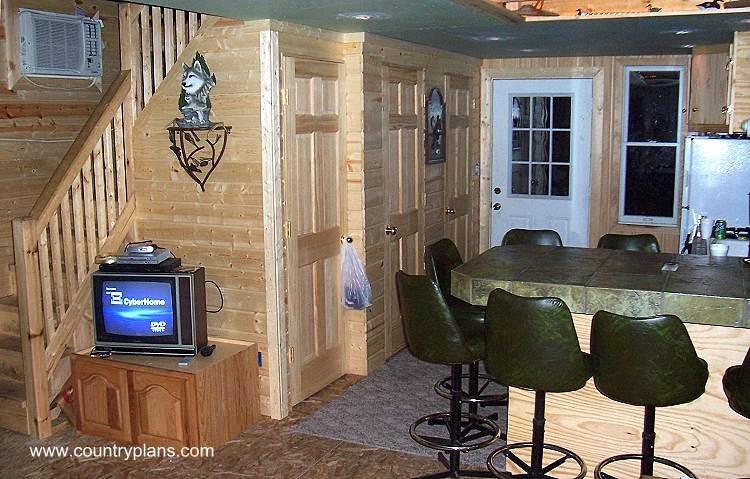Arquitectura de Casas: Casa rural pequeña de madera tipo cabaña ...