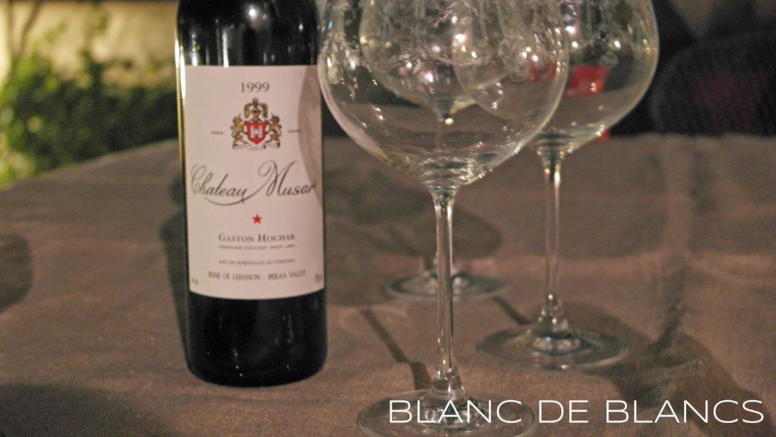 Château Musar 1999 - www.blancdeblancs.fi