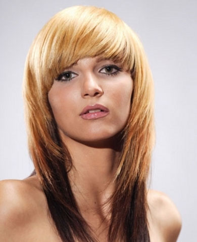 Chic Multi-Toned Hair Style 2014
