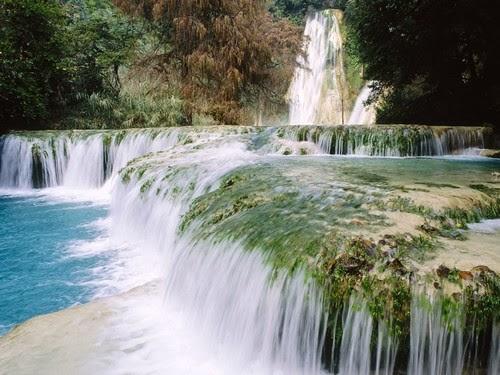 Minas Viejas Waterfalls Mexico