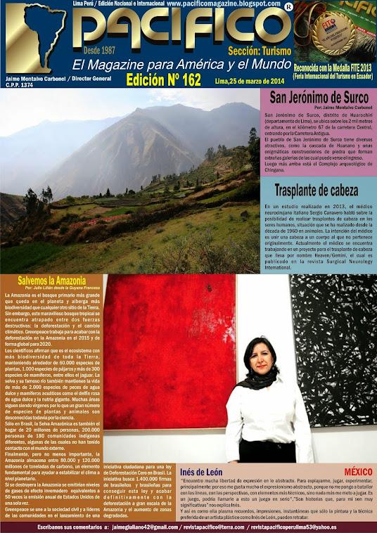 Revista Pacífico Nº 163 Turismo