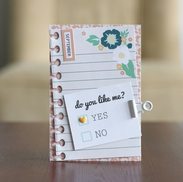 Amy Tsuruta Chickaniddy Crafts Back to School Card