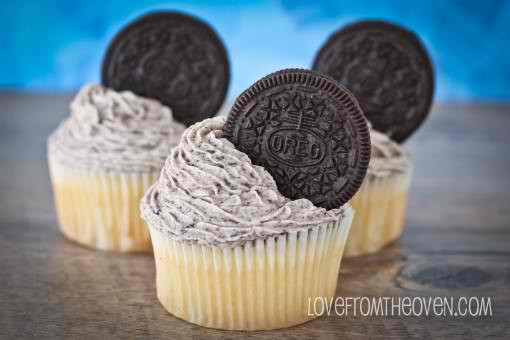 Food: Oreo Truffle Stuffed Cupcakes With Cookies & Cream Frosting ...