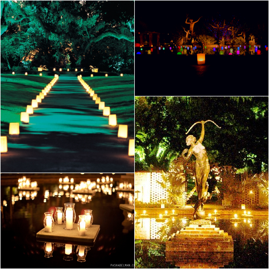 All Things Myrtle Beach Nights Of A Thousand Candles At Brookgreen Gardens