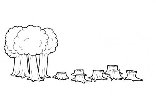 Dibujos para colorear de contaminacion del aire - Imagui