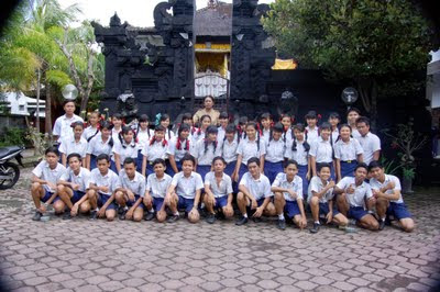 bgo class di sekolah SMP 1 Kuta Utara