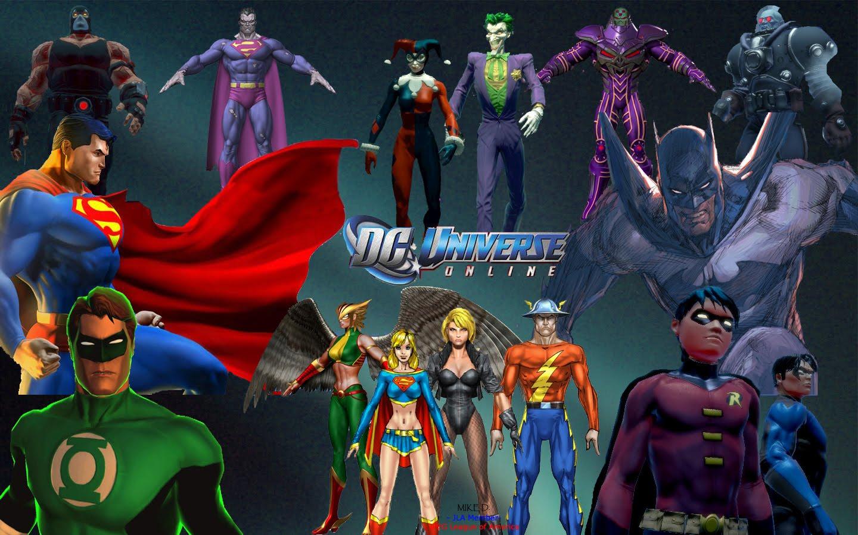 DC Universe Online -Juego de Superhéroes y Villanos para PC y Ps3