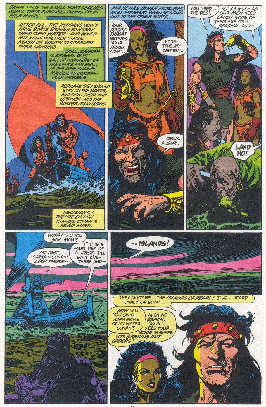 Conan the Barbarian (1970) Issue #270 #282 - English 11