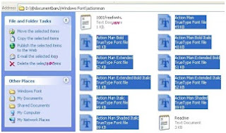 Cara tambah font Windows (Install font windows)