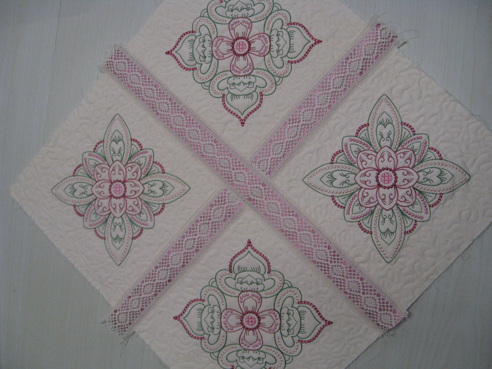 Vicki S Fabric Creations Hints And Tips 10 Quilt As You