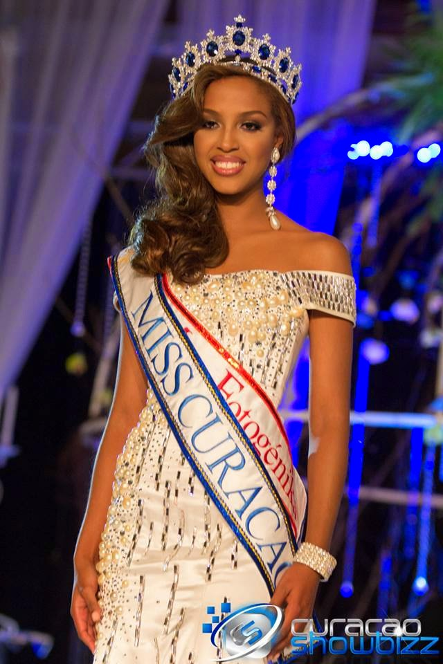 Miss Curacao Universe 2014 winner Laurien Angelista
