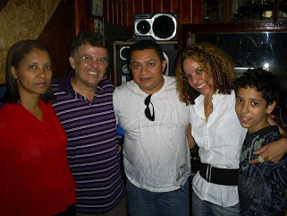 CANTOR JOSE ANTONIO, SILVANA ESPOSA COM DAIANE LOPES,FELIPE E TONINHO BACK VOCAL DO SEU CD.