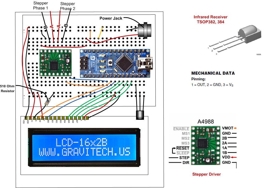 Arduino nano wiring diagram image collections diagram for Arduino nano motor control