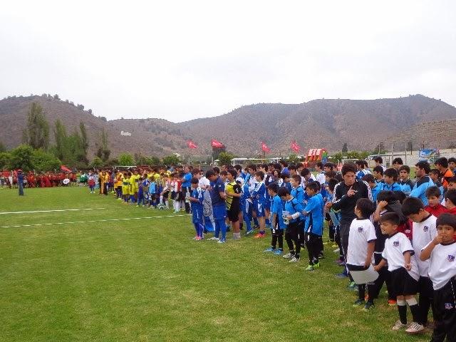 """Torneo Internacional de Escuelas de Fútbol """"Melipilla 2014""""."""