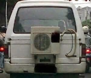 Tetapi, penggunaan system pendingin juga mempunyai korelasi dengan konsumsi bahan bakar. Bila keadaan AC tak terurus