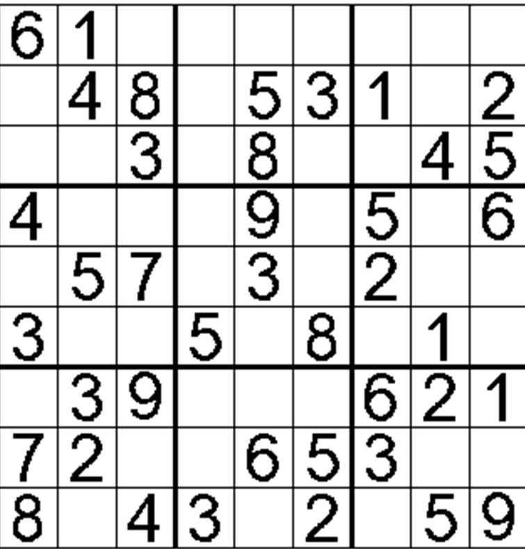 Terrible image throughout beginner sudoku printable