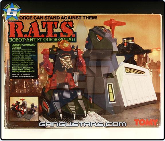 Tomy RATS R.A.T.S. European Starriors www.gangustars.com