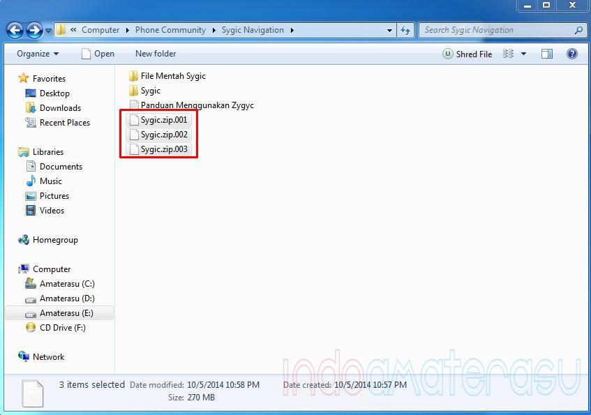 Cara Memecah File dan Menggabungkan File Dengan 7zip 4