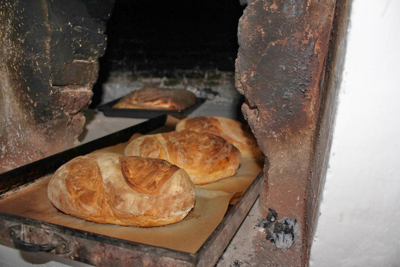Cheffrustrado soy pan en horno de le a del cheffrustrado - Calentar horno de lena ...