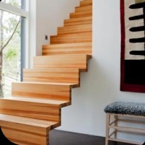 Espacios con estilo materiales inn para escaleras for Materiales para escaleras