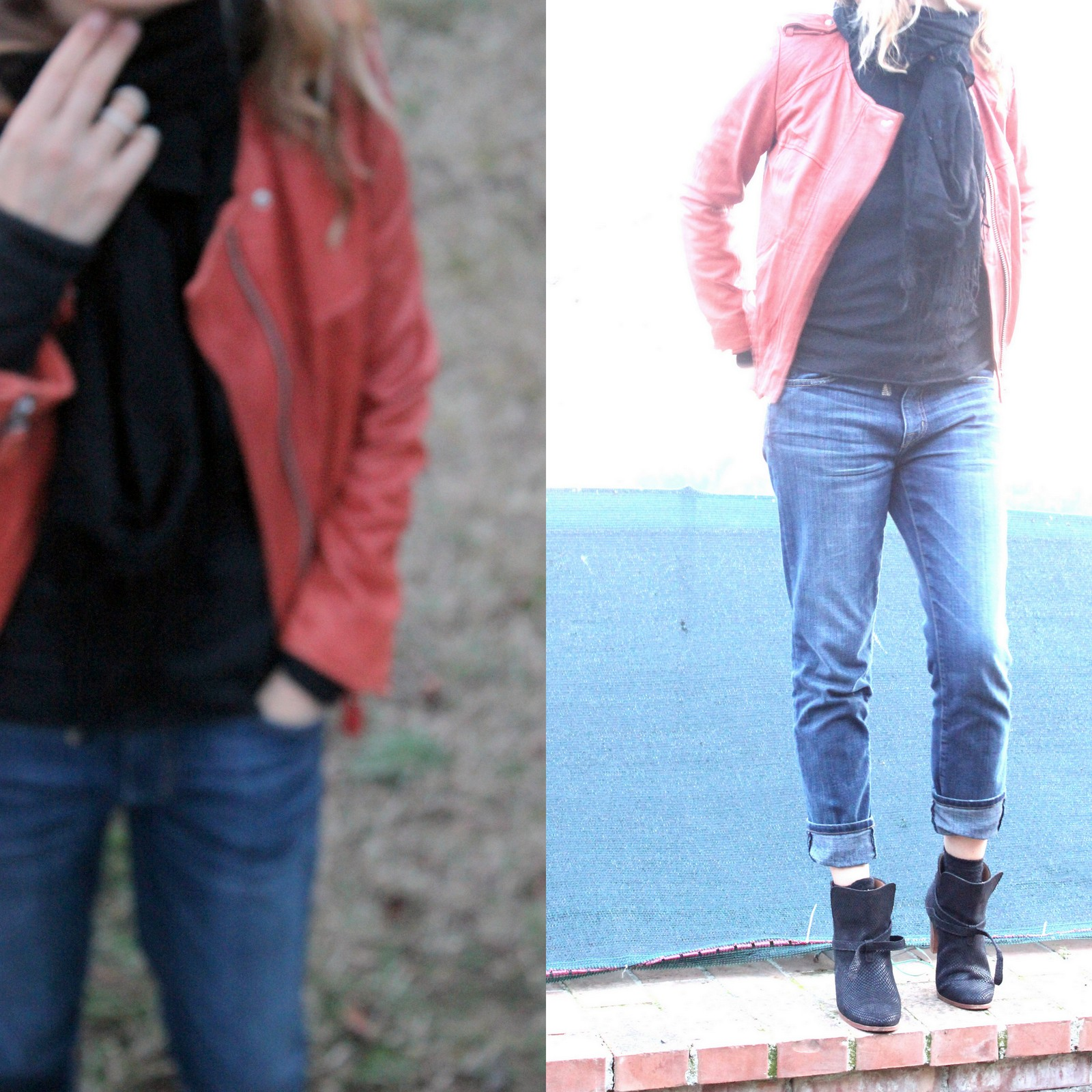 Winter outfits, capsule wardrobe, black outfits, how to wear leather pants, winter fashion, how to wear ankle boots