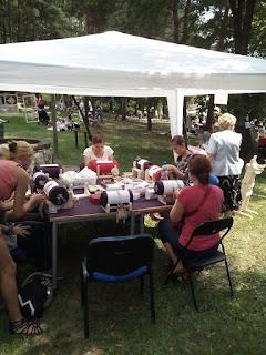 Wspomnienie z Etnomanii w Wygiełzowie 2015