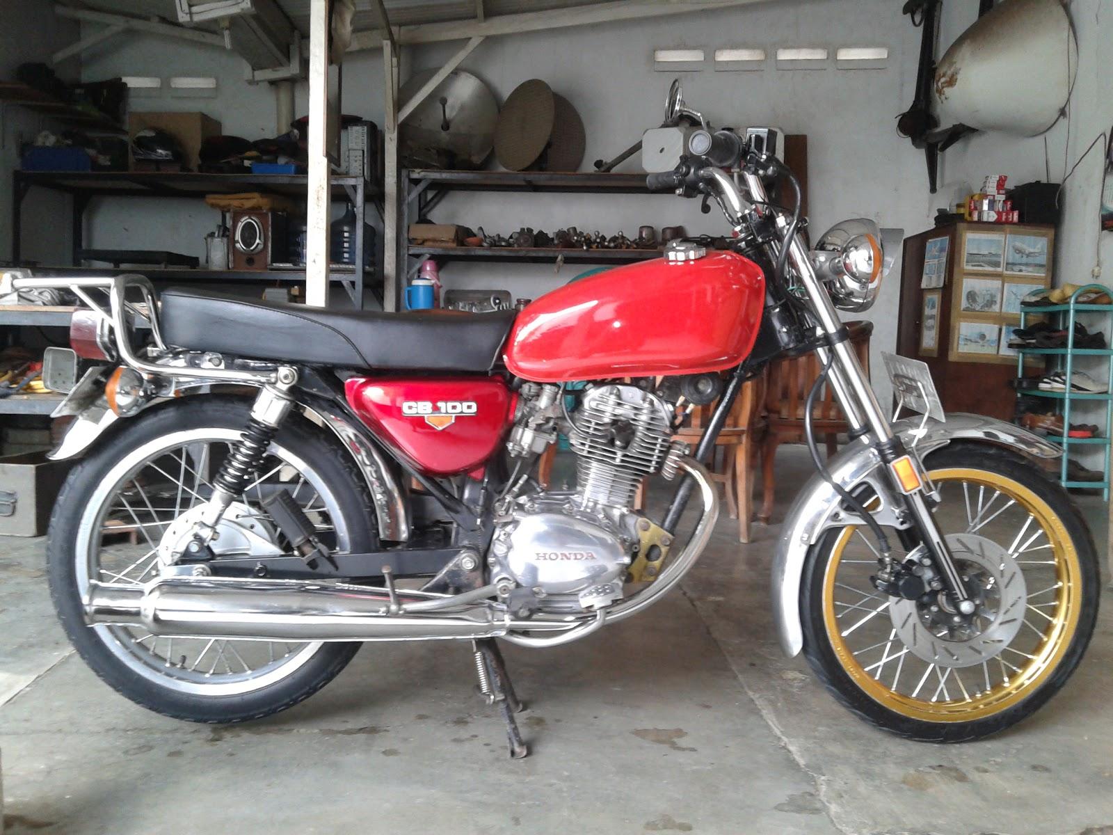 hendriez  Honda CB Gelatik