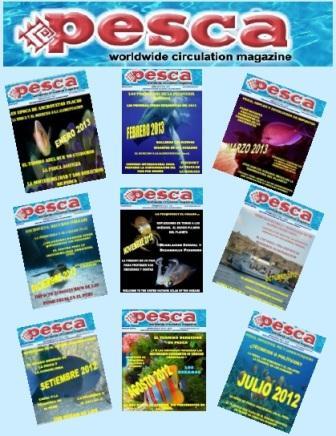 Todas las ediciones de la Revista Pesca aquí