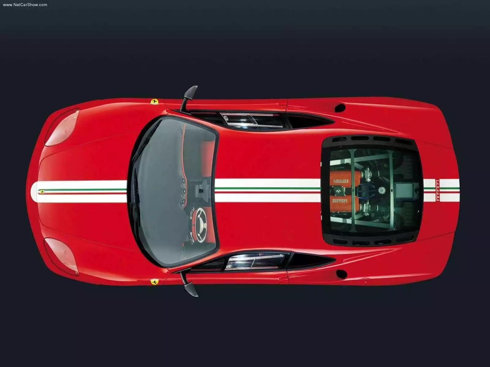 Hình ảnh siêu xe Ferrari 360 Challenge Stradale 2003 & nội ngoại thất